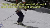 PMTS英文字幕滑雪指南: 双脚释放, 即TFR, 是启动平行滑雪的关键