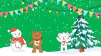 【互动电影动画微课】圣诞模板