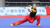 2018年全国武术套路冠军赛 女子长拳 001 魏爱轩(北京)