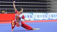 2018年全国武术套路冠军赛 女子长拳 002 王雨森(山东体院)