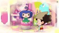 棉花糖和云朵妈妈:棉花糖小苹果是好朋友,到七十岁还要一起玩!