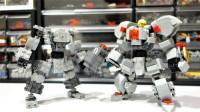 乐高MOC拼装RH Mech Frame机器人格斗机甲玩具