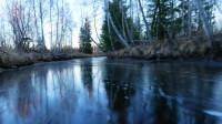 美景 酷玩之沿河溜冰