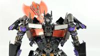 炫酷柱哥变形金刚黑曼巴LS03P暗黑版擎天柱机器人变形玩具