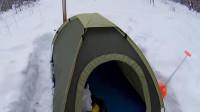 荒野生存体验之两个晚上在帐篷里