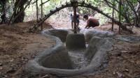 荒野生存 原始技能 之建造池塘