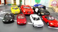 损坏的玩具汽车大集合等待修理