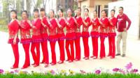 建群村广场舞《38度6》步子摆跨舞 40步 网红神曲集体版2018年最新广场舞带歌词