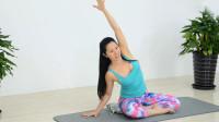 简单几个瑜伽动作教学 背部拉伸 让腰背不再酸痛