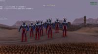 史诗战争模拟器: 10个赛罗奥特曼大战10000个日本士兵