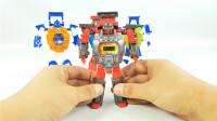 变形金刚变身数字手表超级战神机器人变形玩具