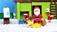 定格动画-乐高城市故事之圣诞老人送礼之路
