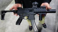 SIGMPX冲锋枪实弹射击展示, 这款冲锋枪很多特征与AR15步枪相似!