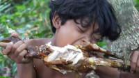 荒野生存 原始技能 烹饪美食烤鸡