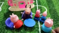 育儿玩具: 小猪佩奇全集育儿玩具故事, 羚羊老师来家访! 小猪佩奇第六季玩具视频小伶玩具