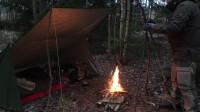 荒野生存体验之徒步旅行冬季露营