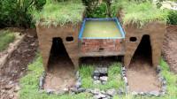 荒野生存之建造浴池