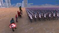 史诗战争模拟器: 复仇者联盟7成员vs10000个美女, 会是什么体验?