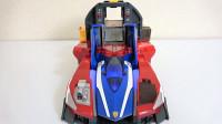 Tomica超凡系列X型三合一赛车弹射装置和迪斯尼汽车闪电麦昆玩具