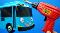 泰路小巴士维修工具箱TAYO儿童玩具