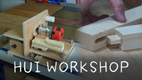 【DIY日常】木工DIY爱好者必备神器! 自制开榫机改造升级2.0~晖木工坊~