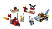 LEGO乐高积木玩具小拼砌师系列10739忍者大战鲨鱼战士套装速组速拼