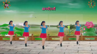 阳光美梅广场舞【爱上一朵花】健身舞-编舞: 糖豆课堂-范范2019最新广场舞