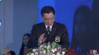 中国健美协会主席张海峰先生为比赛揭幕