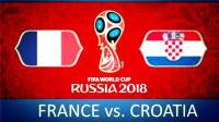 【经典回顾】2018世界杯决赛: 法国vs克罗地亚! 法国夺得世界杯冠军