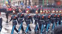 墨西哥阅兵, 各国仪仗队出场, 这画面太搞笑了