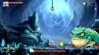 怪物男孩和诅咒王国 大帝解说 第4期 远古青蛙 迷失寺庙 凯兹