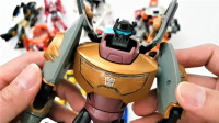10个动画版变形金刚擎天柱棘轮大黄蜂等机器人变形玩具