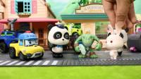 宝宝巴士玩具 第171集 奇奇警察抓小偷