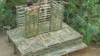 荒野生存 原始技能 生存哥 建造美丽的竹林小屋