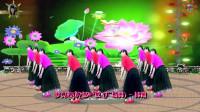 阳光美梅广场舞【梦见你的那一夜 】6-藏族舞-编舞:应子