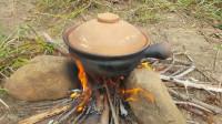 生存哥 野外生存 原始技术 烹饪鳗鱼