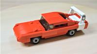 乐高MOC拼装1969《速度与激情6》中道奇Charger Daytona战马