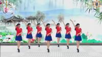 阳光美梅原创广场舞【一支红杏】恰恰风格32步-编舞: 美梅2019最新广场舞