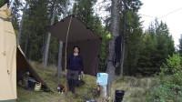 露营 旅行 荒野生存体验之丛林工艺基地营地聚会-篝火烹饪