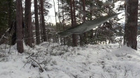 荒野生存体验之带上孩子热帐篷里的冬季露营