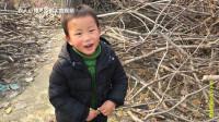 实拍河南农村3岁宝宝搞笑对话, 口齿不清表情很到位, 可爱!