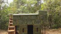 原始技能 荒野生存 生存哥 建造 屋顶游泳池