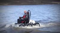 英国大叔发明高科技轮椅, 轻松上下楼梯, 充电2.5小时行驶60公里
