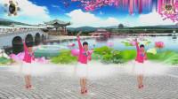 阳光美梅原创广场舞《爱不停息》抒情32步-编舞: 美梅2019最新广场舞