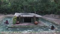 荒野生存之建造别致游泳池