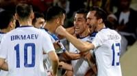 亚洲杯-艾哈迈多夫任意球建功 乌兹别克斯坦2-1阿曼