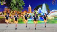 阳光美梅原创广场舞《爱上你我傻乎乎》简单32步-编舞: 美梅2019最新广场舞