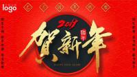 【新年素材】中国结烟花灯笼新年背景视频