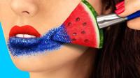 用水果也可以化妆吗? 来看看这7种搞笑的化妆套装吧
