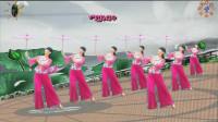 阳光美梅原创广场舞《烟雨江南》3-古典伞舞-正面演示-编舞: 美梅
